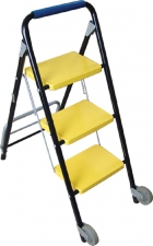 LADDER TROLLEY 2-IN-1 3STEP