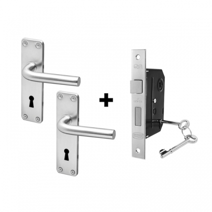 QS OSLO COUPE LOCKSET  BOX