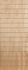 DOOR VENEER HORZ SLATTED 813
