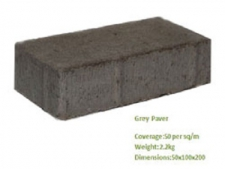 GREY PAVERS 25MPA