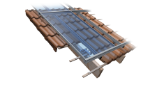 SOLAR PITCH ROOF SUPPORT