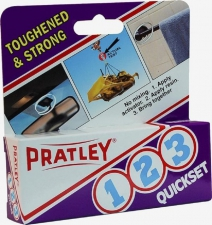 PRATLEY GLUE QUICKSET 123-15ML