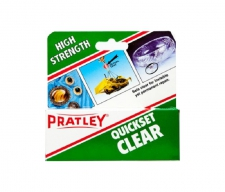 PRATLEY GLUE QUICKSET CLEAR