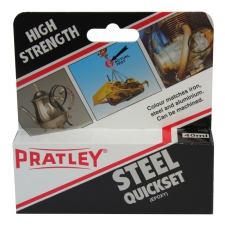 PRATLEY GLUE STEEL 40ML/EACH