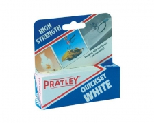 PRATLEY GLUE QUICKSET WHITE/EA