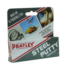 PRATLEY PUTTY STEEL 125g/EACH