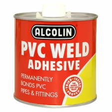 PVC WELD ALCOLIN 500ML/EACH