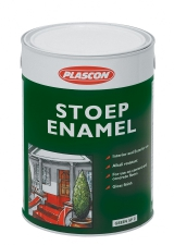 PLASCON STOEP ENAMEL RED 5LT