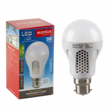*LAMP LED RECHARGEABLE B22 5W DAYLIGHT