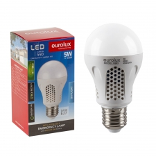 *LAMP LED RECHARGEABLE E27 5W DAYLIGHT