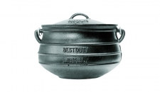 CAMP POT 7.8L CAST IRON (FLAT)