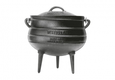 CAMP POT CAST IRON 7.8L (3 LEG