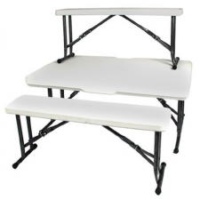 TAFEL & BANK PIEKNIEK STEL 3PC